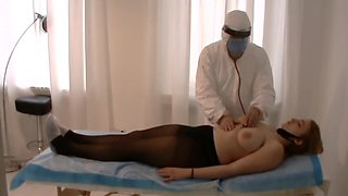 Katie Kupps - Model Casting, Medical Exam In Agency. Wienna Goldberg Exam