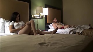 Brother & Sister Share A Hotel Room - Annika Eve Preview