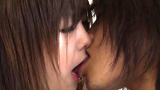 Young Miku Airi fucked by boyfriend in bedroom romance