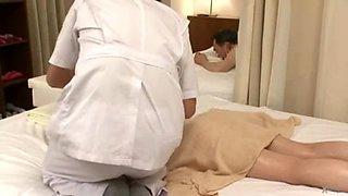 Erotic Oil Massage Secret Creampie
