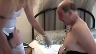 Horny Homemade video with Stockings, Threesome scenes