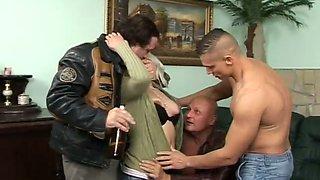 drunken orgy