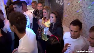 Drunk Amoral Girls Go Wild In The Club