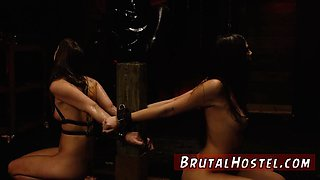 Muscle wrestling domination Two youthfull sluts Sydney Cole and Olivia Lua our down