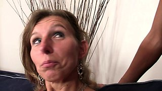 Hairy pussy mother in la into taboo sex