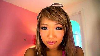 Sensual Japanese girls putting their pink holes on display
