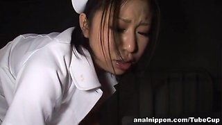 Yuuka Tsubasa naughty Asian nurse is wild sex