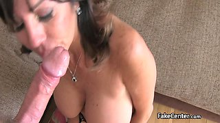 Anal fuck on casting for hot granny