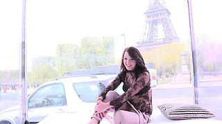 Hot Nora Luxia has Sex in Front of the Eiffel Tower