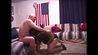 mexican bbw granny gets her butt fucked
