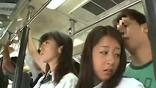 japanese schoolgirl fuck abused bus