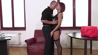 Best adult clip Stockings craziest watch show