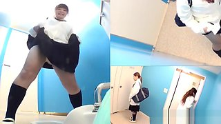 Japanese teen pissing