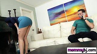 Big booty brunette mommy master of seduction fucked hard