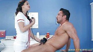 Dick riding brunette hottie Alina Lopez