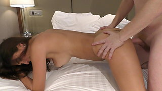 Alina getting fucked with a big cock
