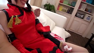 Exotic Japanese chick in Incredible JAV censored Fingering, Dildos/Toys clip