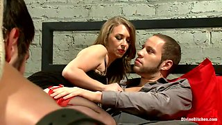 Mistress T cuckolds and blackmails her gambling addicted husband!