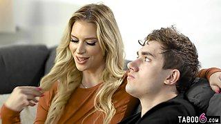 Needy stepson declared his love to his MILF stepmom Brooke Banner