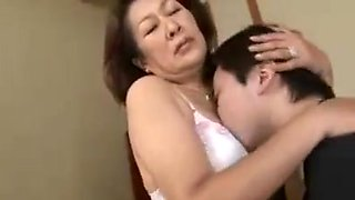 Affection of Mother and Son