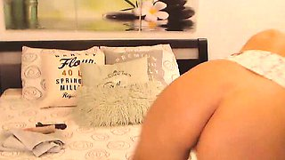 My Sisters Friend Showing Off on Cam