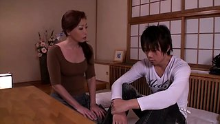 Japanese mom and young lover part 2