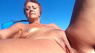 Fun in the sun at the Nude Beach (#1)