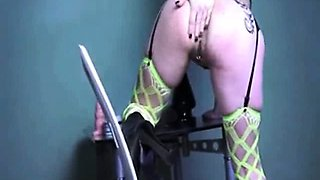 Massive anal insertions and fisting orgasms