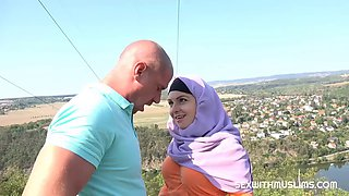 Fucked muslim and great view