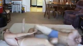 charlee chase wrestling with son and fuck