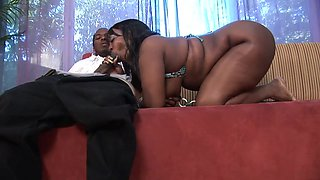 Incredible pornstar Chocolate Stallion in exotic bbw, black and ebony adult clip